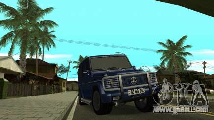 Mercedes Benz G500 Armenian for GTA San Andreas