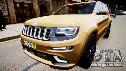 Jeep Grand Cherokee SRT8 2015 for GTA 4