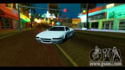 Infernus Rocket Bunny by ZveR for GTA San Andreas