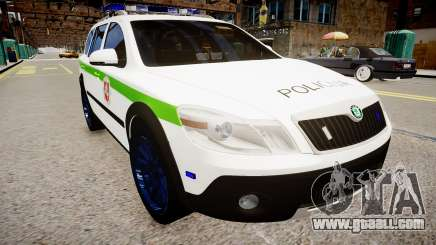 Lithuanian Police Skoda Octavia Scout for GTA 4