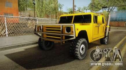 Patriot for SA:MP for GTA San Andreas