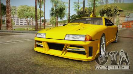 Elegy Taxi Sedan for GTA San Andreas
