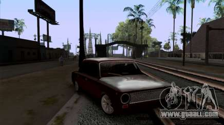 VAZ 2101 BPAN snow version for GTA San Andreas