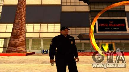 Member of the PPP in the summer uniform of the new sample for GTA San Andreas