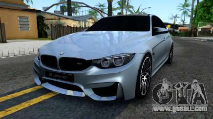 BMW M3 F80 30 Jahre 2016 for GTA San Andreas