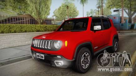 Jeep Renegade 2017 for GTA San Andreas