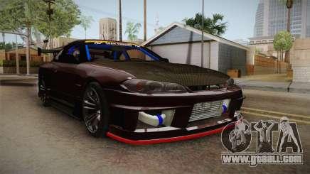 Nissan Silvia S15 D-Max Kit for GTA San Andreas