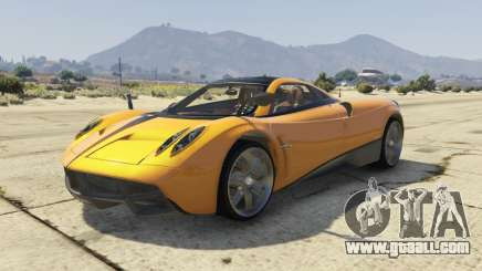 Pagani Huayra 2012 for GTA 5
