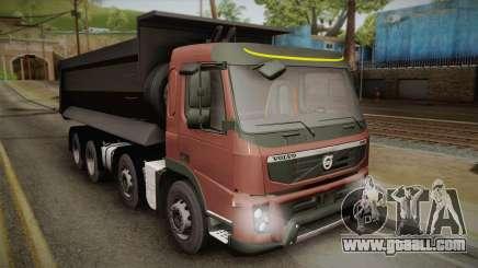 Volvo FMX Euro 5 8x4 Dumper Low for GTA San Andreas