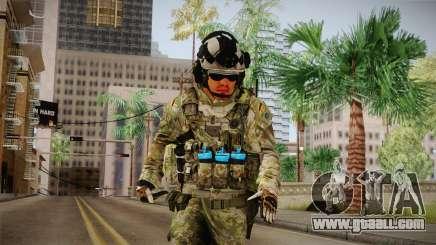 Multitarn Camo Soldier v1 for GTA San Andreas