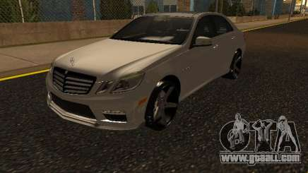 Mercedes-Benz E63 Armenian for GTA San Andreas