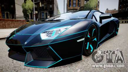 Lamborghini Aventador TRON Edition for GTA 4