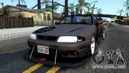 Nissan Skyline GT-R33 Fans Drift for GTA San Andreas