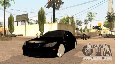 BMW M5 E60 Facelift for GTA San Andreas