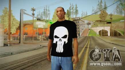 Skull t-shirt for GTA San Andreas