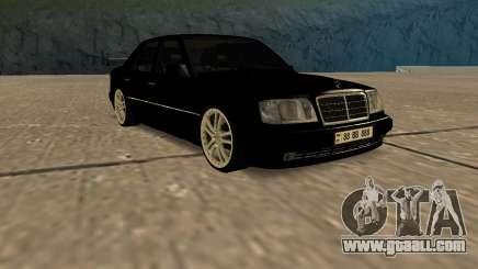 Mersedes-Benz E500 W124 Armenia for GTA San Andreas