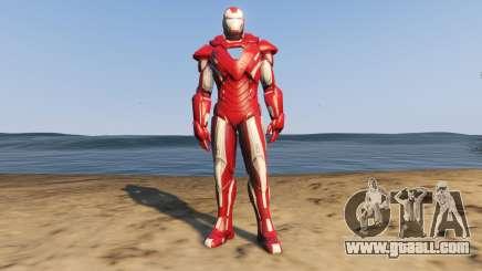 Iron Man Silver Centurion for GTA 5