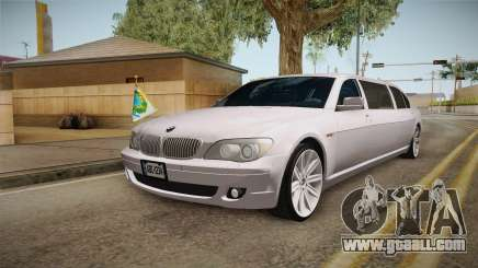 BMW E66 7-Series Limousine for GTA San Andreas