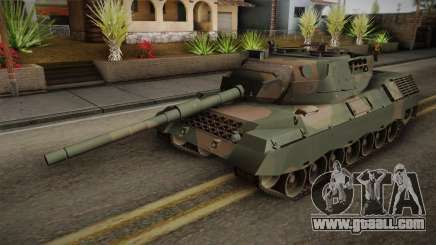 Leopard 1A5 Brazilian Army for GTA San Andreas