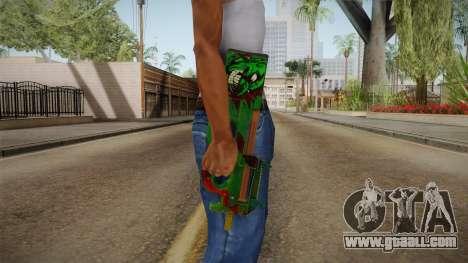 Vindi Halloween Weapon 7 for GTA San Andreas third screenshot