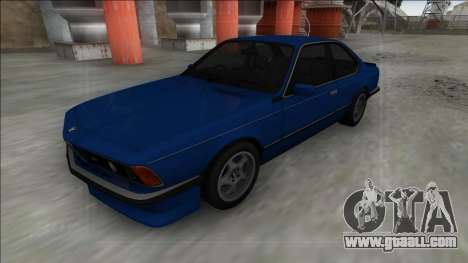BMW M6 E24 for GTA San Andreas right view