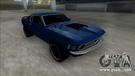 1970 Ford Mustang Boss 429 for GTA San Andreas inner view
