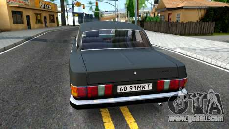 GAZ 3102 USSR for GTA San Andreas back left view