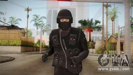GTA Online DLC Heists Skin for GTA San Andreas
