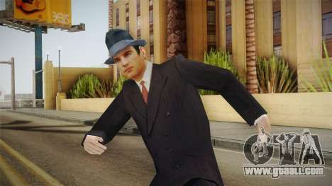 Mafia - Thomas Angelo Normal Suit and Hat for GTA San Andreas