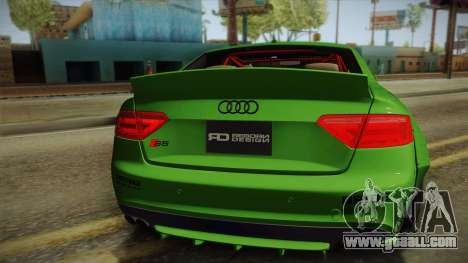 Audi S5 Liberty Walk LB-Works for GTA San Andreas back view