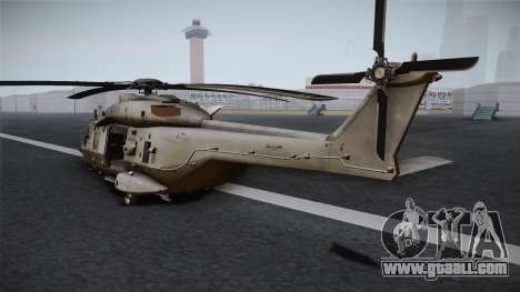 CoD: Ghosts - NH90 for GTA San Andreas right view