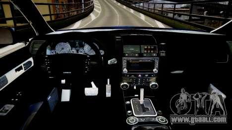 Finnish Police Volkswagen Passat (Poliisi) for GTA 4 inner view
