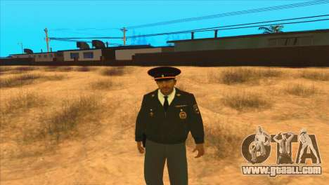 Russian police for GTA San Andreas second screenshot