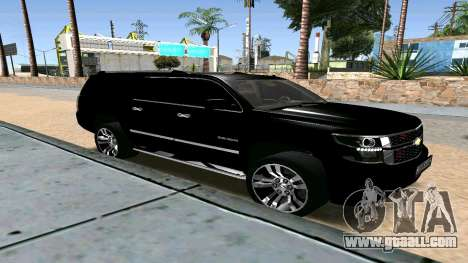 Chevrolet Suburban 2015 for GTA San Andreas right view