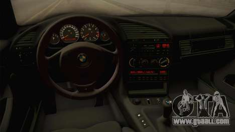 BMW M3 E36 Pandem Kit for GTA San Andreas inner view