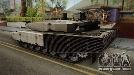 Leopard 2 MBT Revolution for GTA San Andreas left view