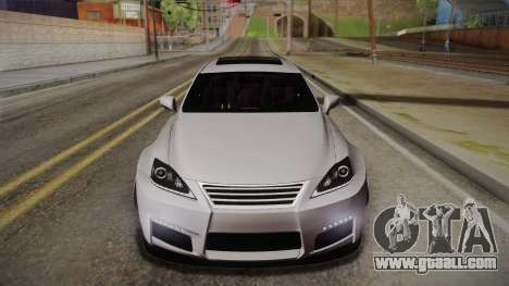 Lexus IS F 2009 Hachiraito for GTA San Andreas
