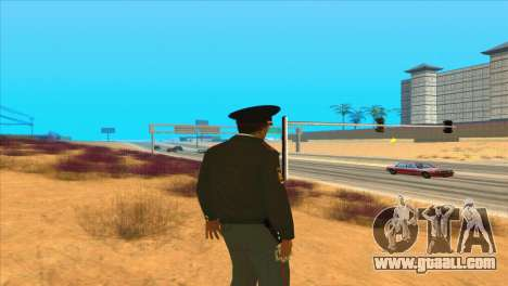 Russian police for GTA San Andreas forth screenshot