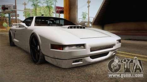 Modified Infernus for GTA San Andreas