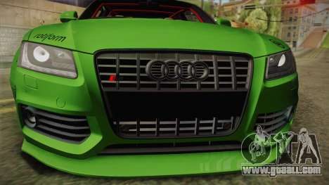 Audi S5 Liberty Walk LB-Works for GTA San Andreas right view