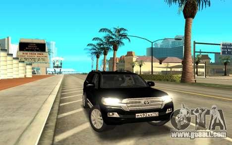Land Cruiser 200 for GTA San Andreas