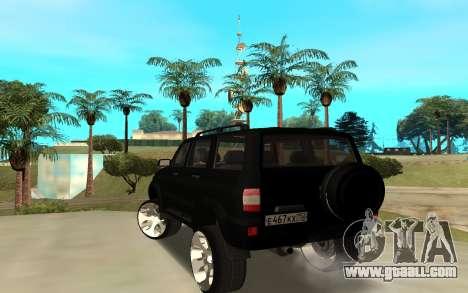 UAZ Patriot 2014 for GTA San Andreas back left view