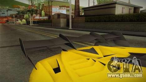 GTA 5 Pegassi Lampo for GTA San Andreas inner view