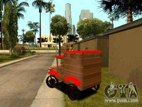 Wooden Toy Truck for GTA San Andreas right view