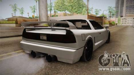 Modified Infernus for GTA San Andreas right view