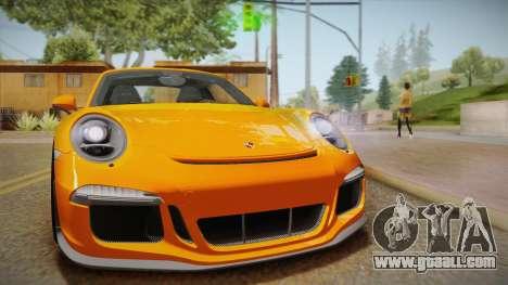 Porsche 911 R (991) 2017 v1.0 for GTA San Andreas right view