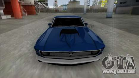 1970 Ford Mustang Boss 429 for GTA San Andreas back view