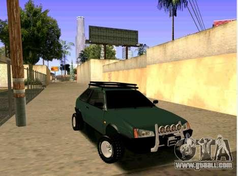 VAZ-2108 4x4 for GTA San Andreas