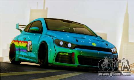Volkswagen Scirocco R Ngasal Kit for GTA San Andreas back view