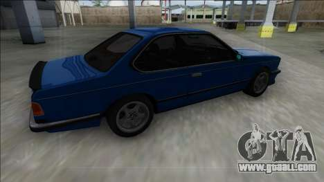 BMW M6 E24 for GTA San Andreas left view